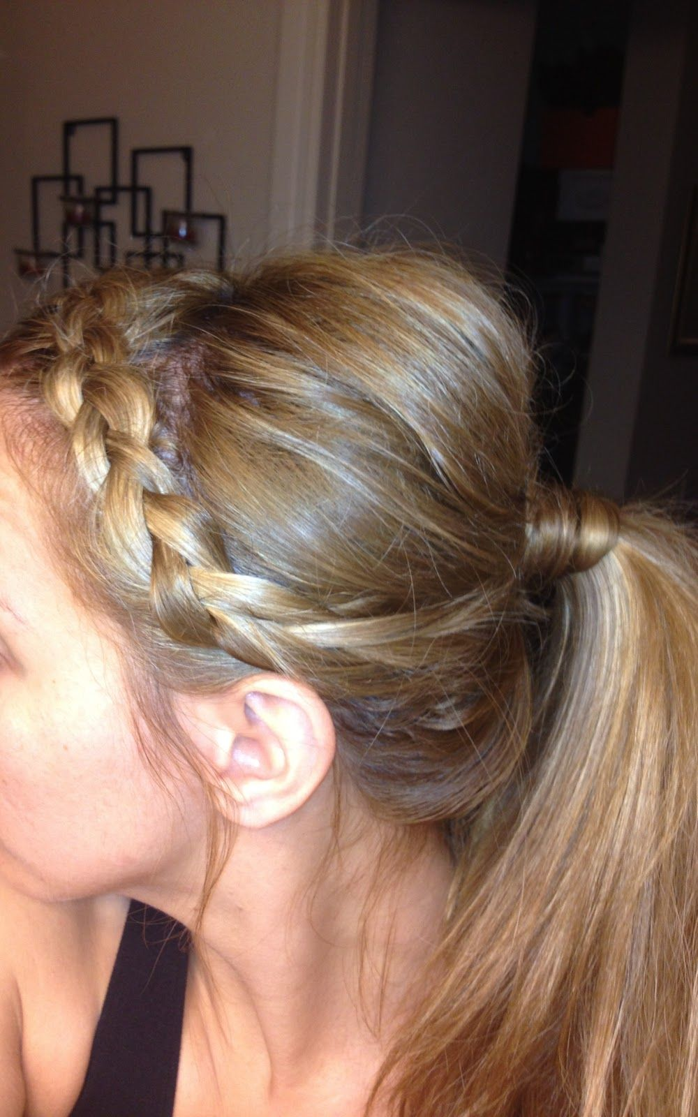 Easy do for nd day hair maybe quick hair before class hair