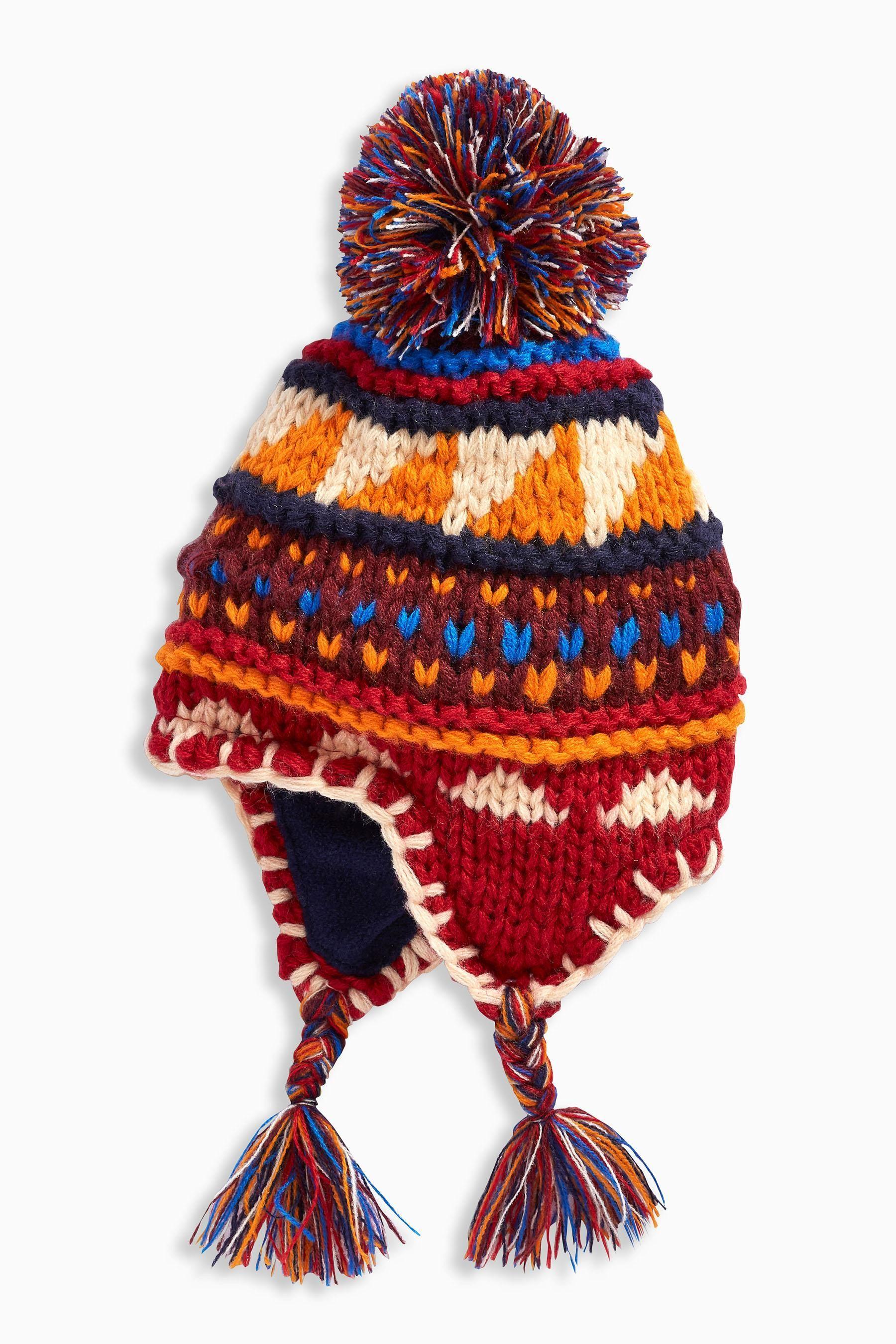 53244b912a9 Купить Вязаная шапка в стиле инков (3 мес.-6 лет) - Покупайте прямо ...