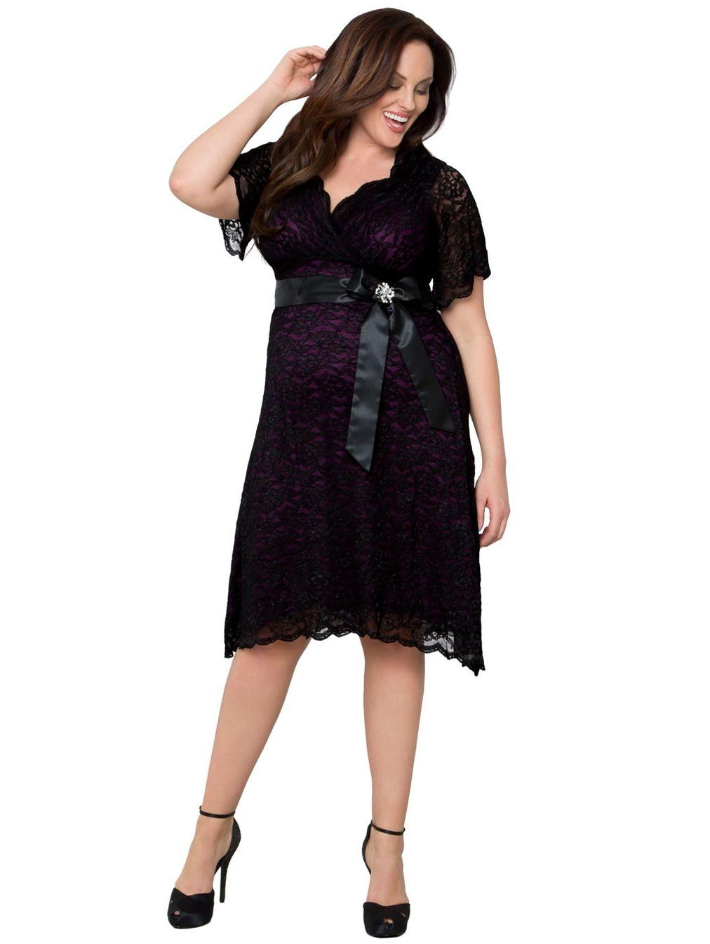 50e7e4ea5cb Cool clothing for plus size women, smart dress for you, @Store størrelser  kvinder