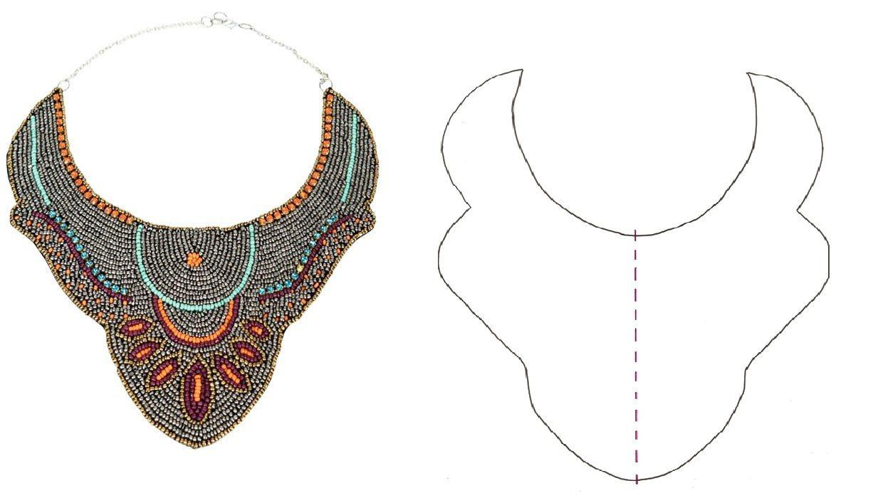 6bcf32bc9075 Top 6 patrones collar babero descargables