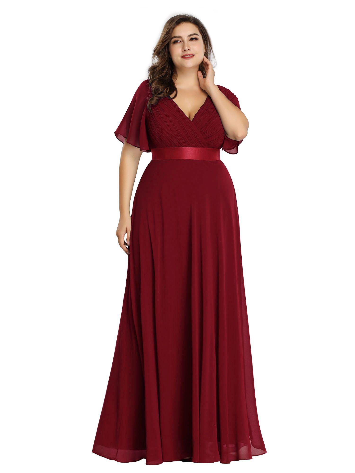 Ever Pretty Ever Pretty Womens Chiffon Long Formal Evening Dresses For Women 98902 Burgundy Us4 Walmart Com Bridesmaid Dresses Plus Size Empire Waist Evening Dress Formal Evening Dresses [ 2000 x 1500 Pixel ]