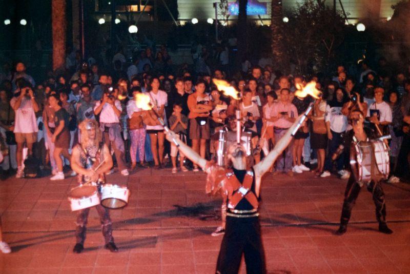 Espectáculos en la noche de la Expo 92