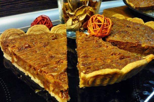 Orechovo-karamelový koláč (fotorecept) - obrázok 7