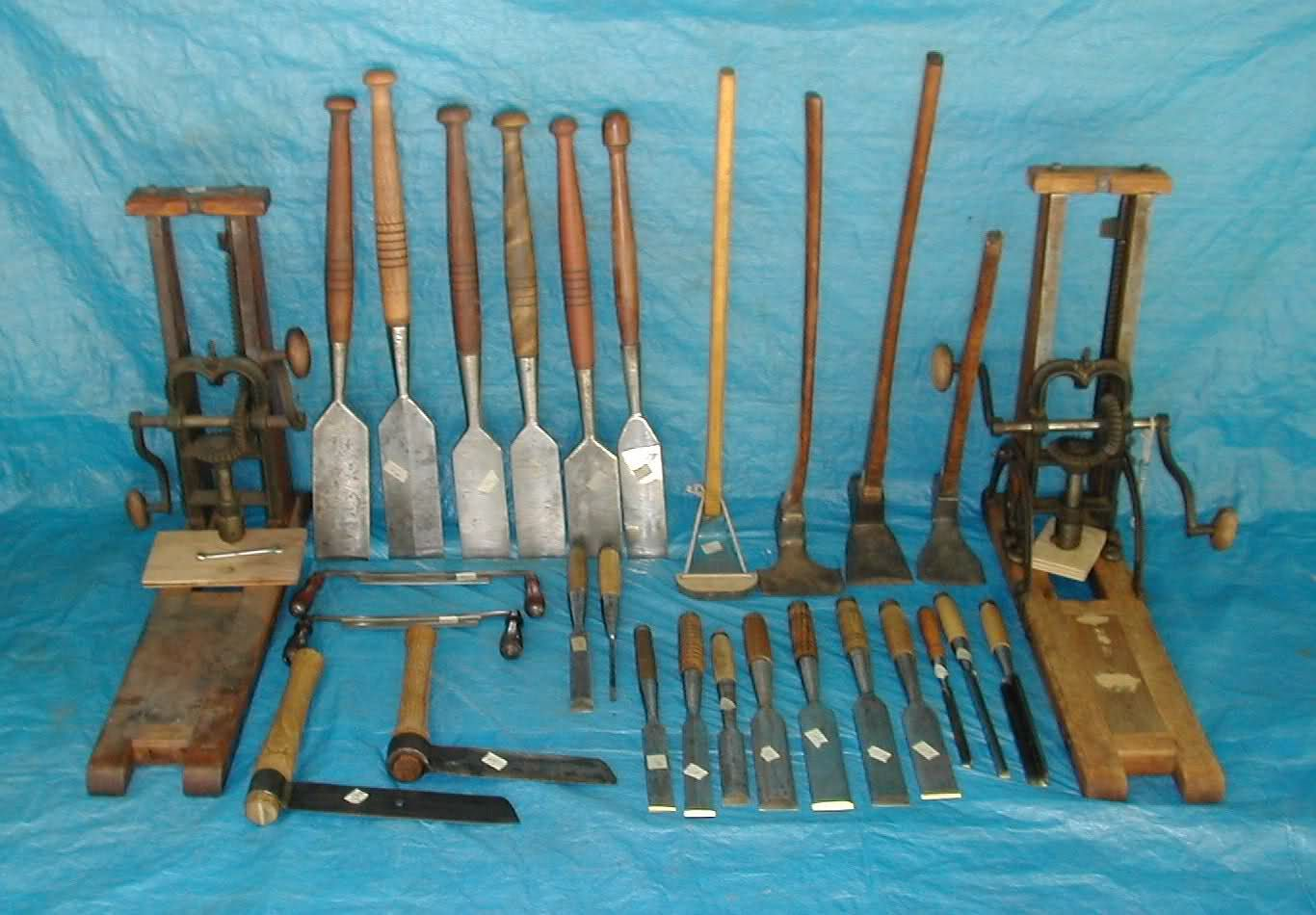 Traditional Timber Framing Tools *PIC* I need to start collecting ...