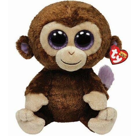 Beanie boo - Coconut - Monkey - July 27  ce1e13b4912