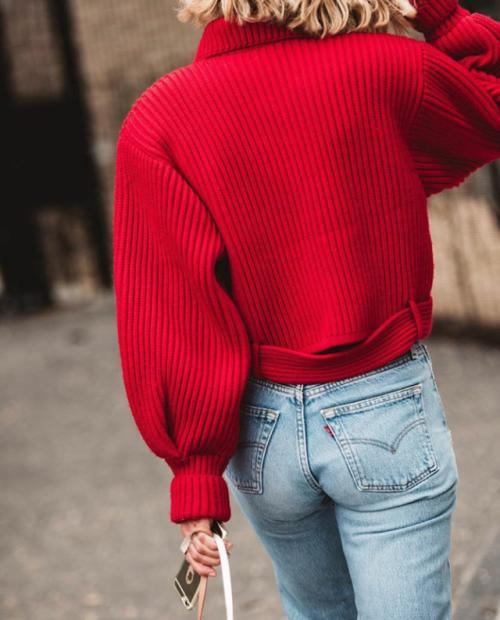 buy popular 293ae 5fbe2 BARBARAPPA | Dig Her Style | Red fashion, Fashion, Autumn ...