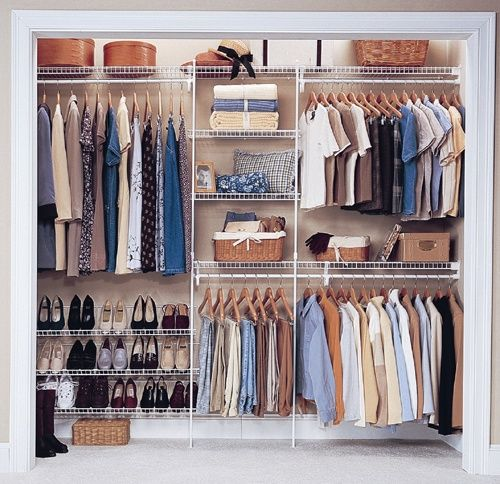 Image Detail For  ClosetMaid   Wire Shelving U0026 Wardrobe Solutions.  Declutter U0026 Organise.