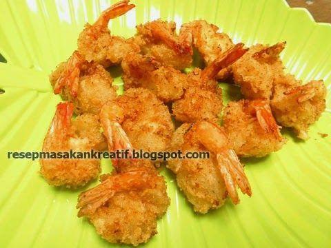 Resep Udang Goreng Tepung Renyah Crispy Resep Udang Resep Masakan Indonesia Memasak