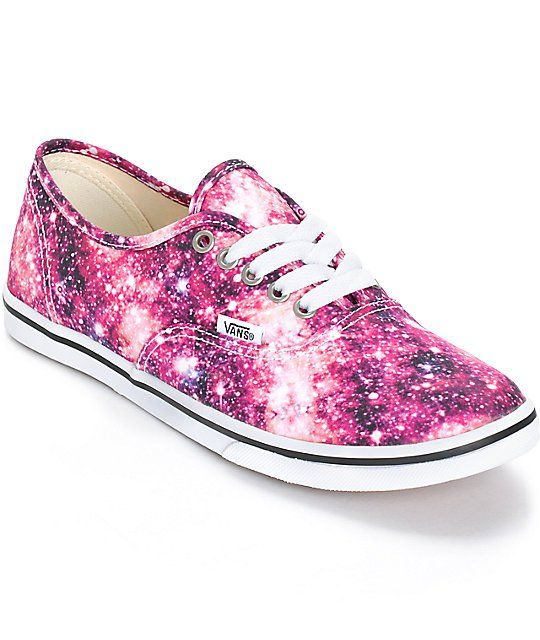Vans Authentic Lo-Pro Cosmic Cloud Shoes | Zumiez