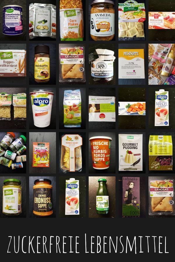 Bist Du auf der Suche nach zuckerfreien Lebensmitteln? Dann schau