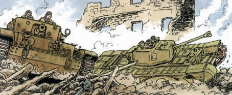 """A lot of military terms still in use today come to us from World War II. In Bombing Nazi Germany, renowned graphic novel author and artist Wayne Vansant explains the origin of the term """"carpet bombing."""""""