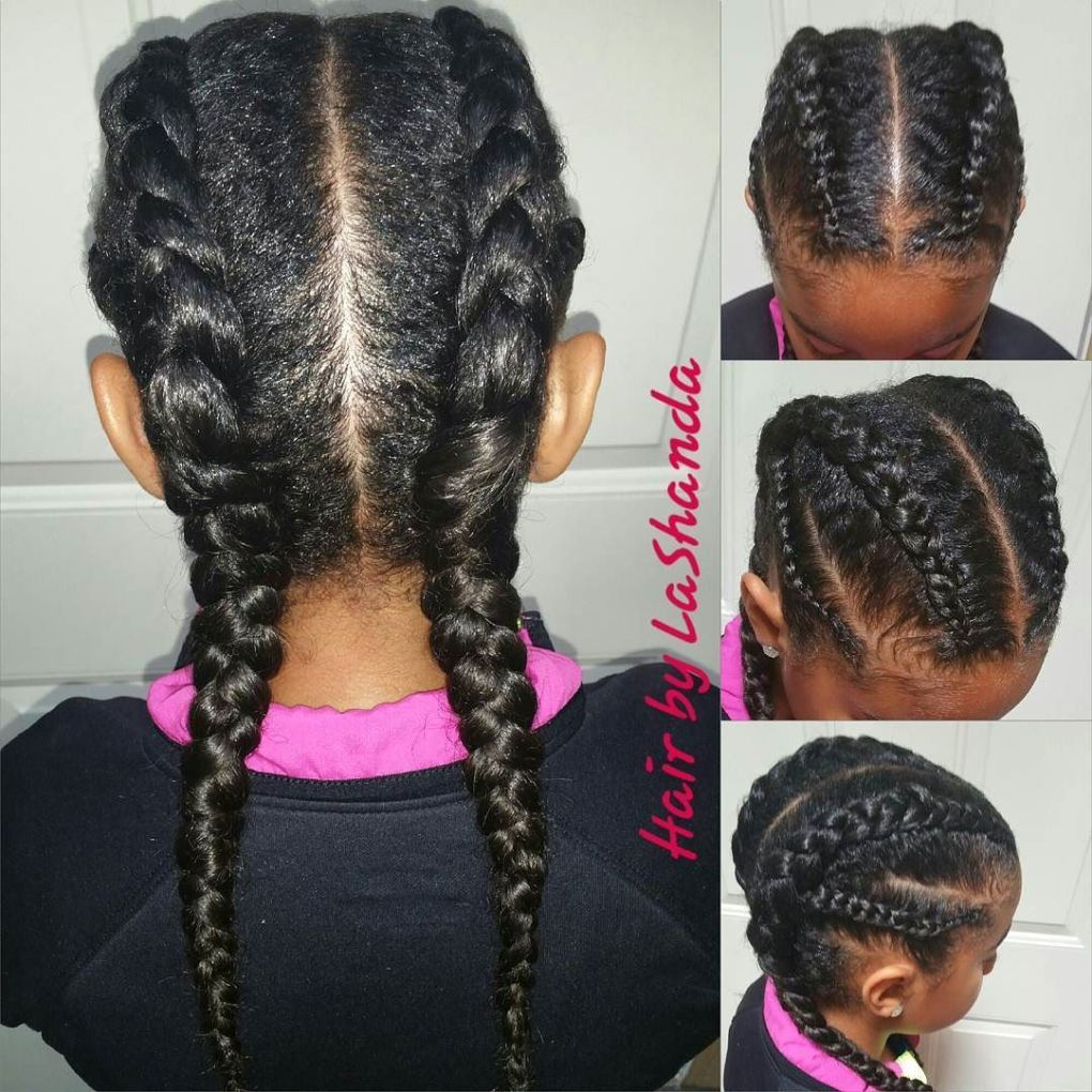 Braids for Kids – 40 Splendid Braid Styles for Girls | Black girls ...
