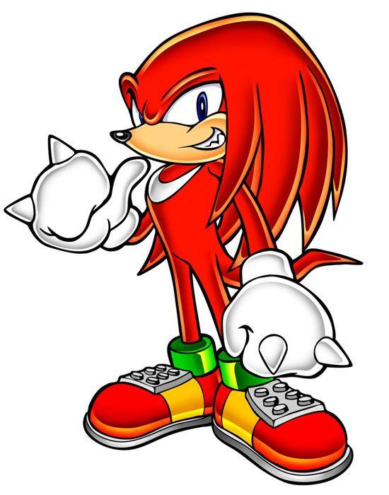 Knuckles the Echidna | Sonic Adventure | Personajes de sonic ...