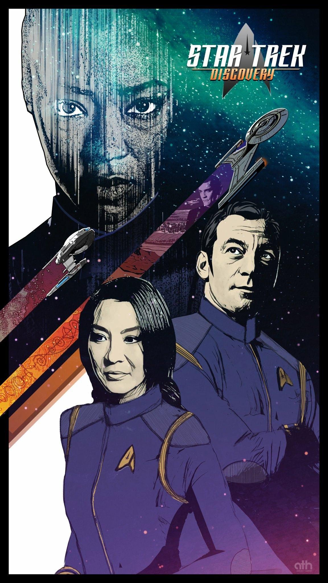Poster Art For Star Trek Discovery