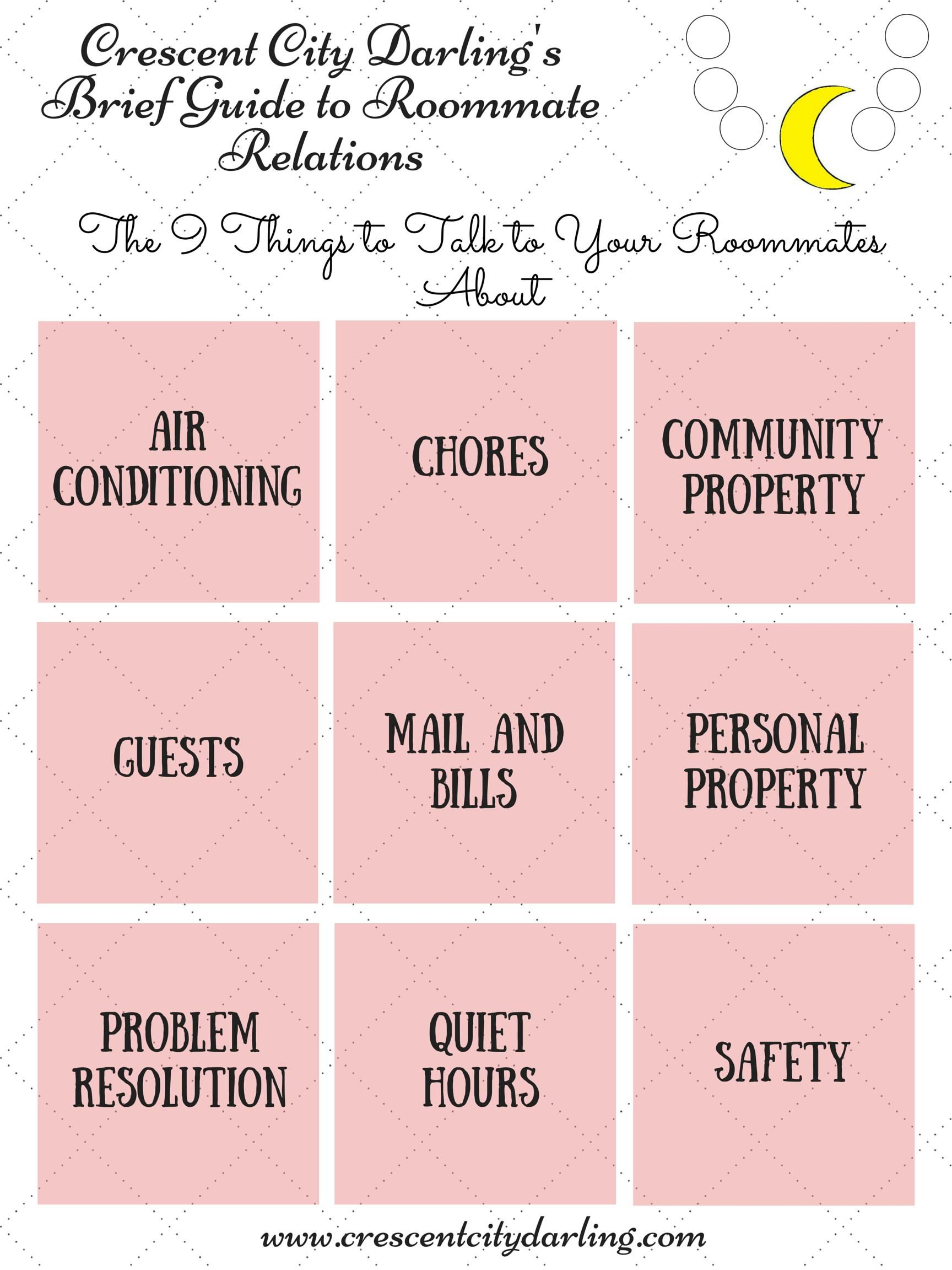 A Guide To Roommate Relations For Those Moving Out For The
