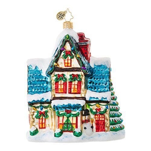 Christopher Radko Winter Haven Cottages and Houses Christmas