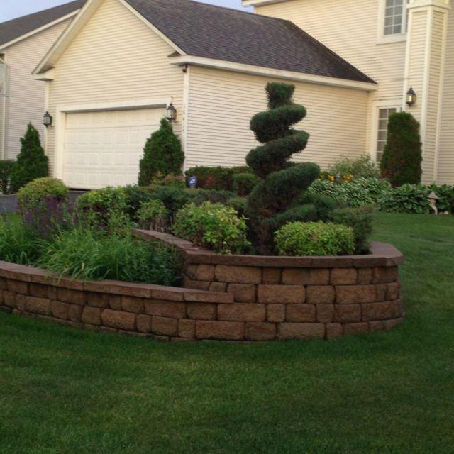 Backyard Garden Landscape, Landscaping