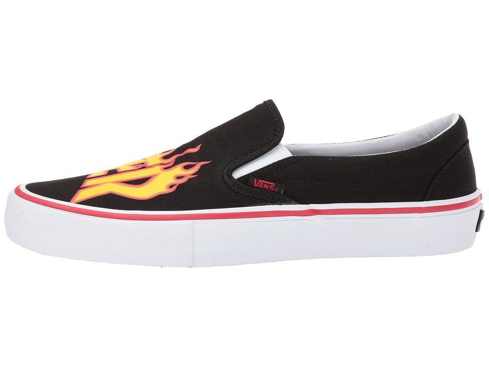 Vans Slip On Pro x Thrasher Men's Skate Shoes (Thrasher
