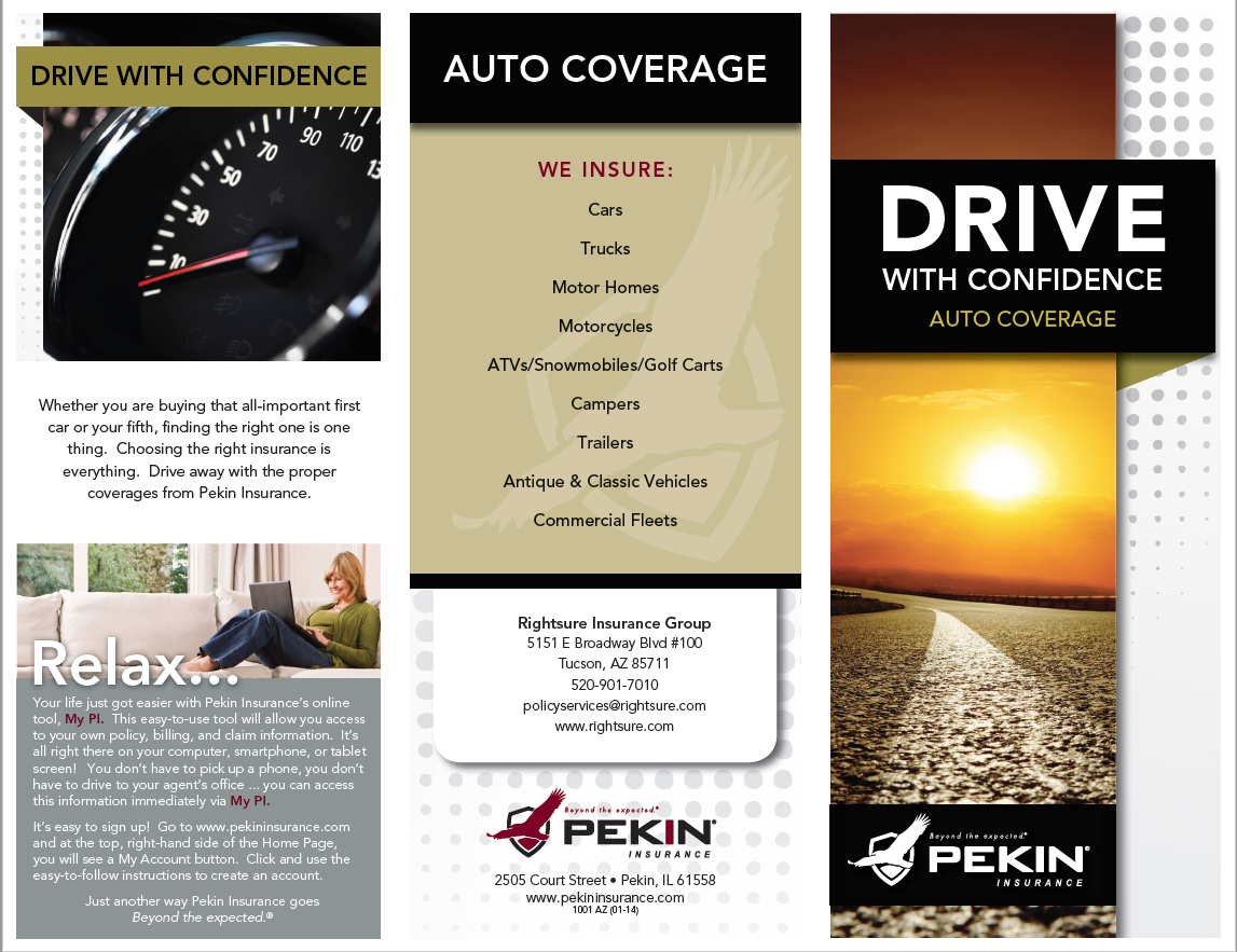 Rightsure Is A Proud Pekin Agent In Tucson Call Us At 520 901