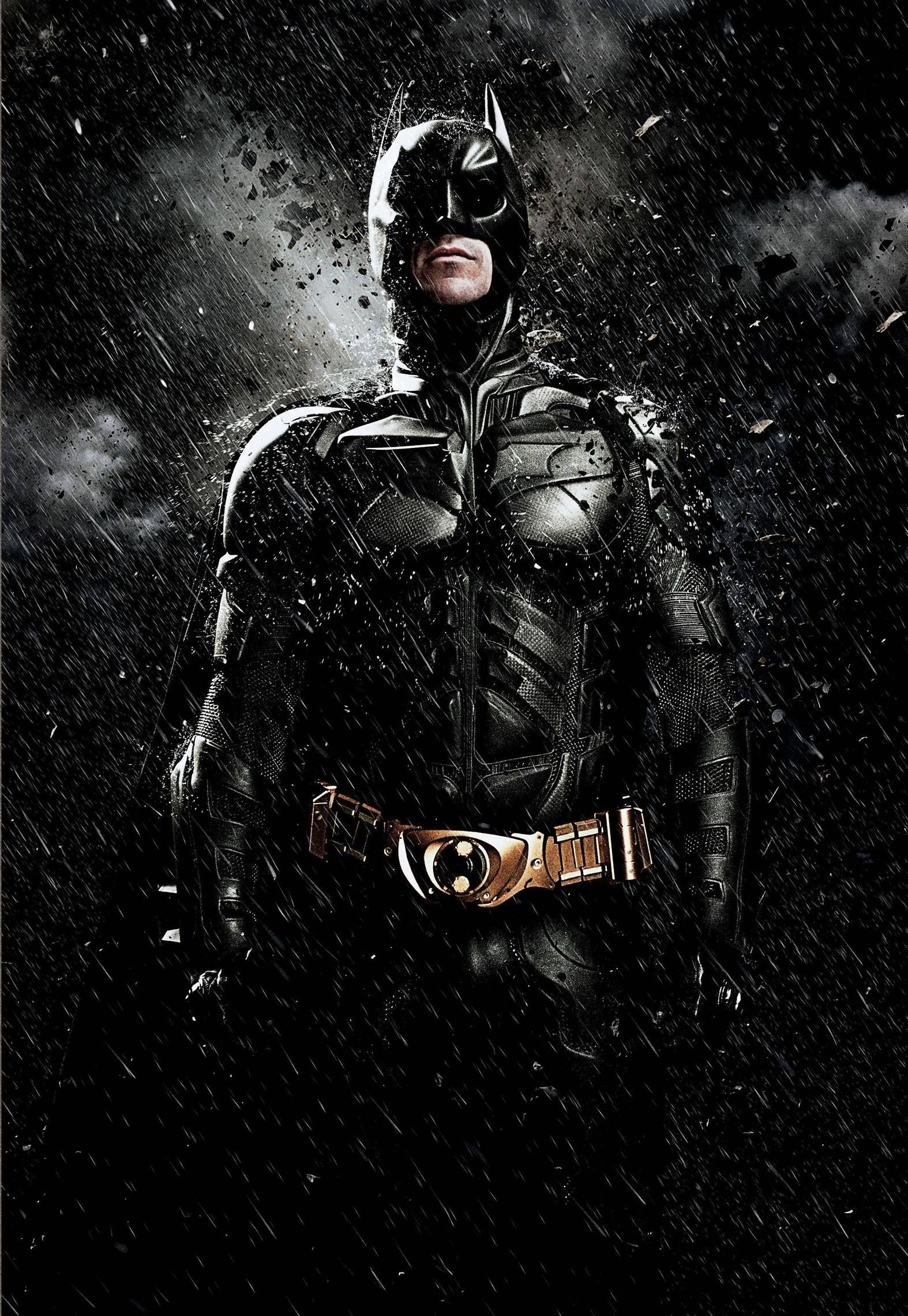 THE DARK KNIGHT RISES Textless Posters and Banners News