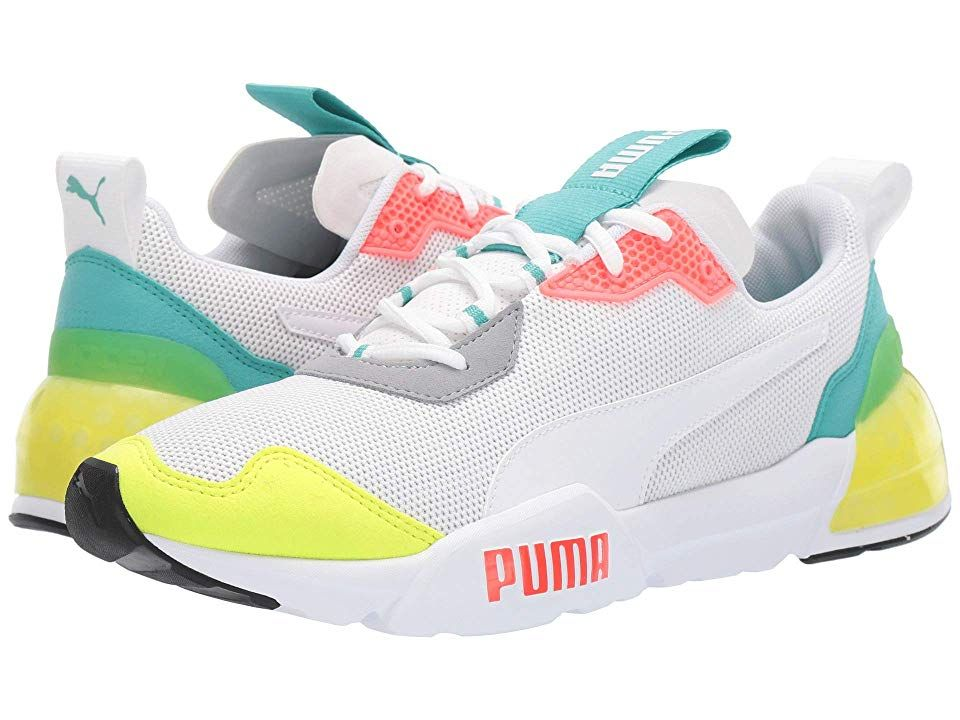 PUMA Cell Phantom Men's Shoes Puma WhiteBlue TurquoiseNrgy
