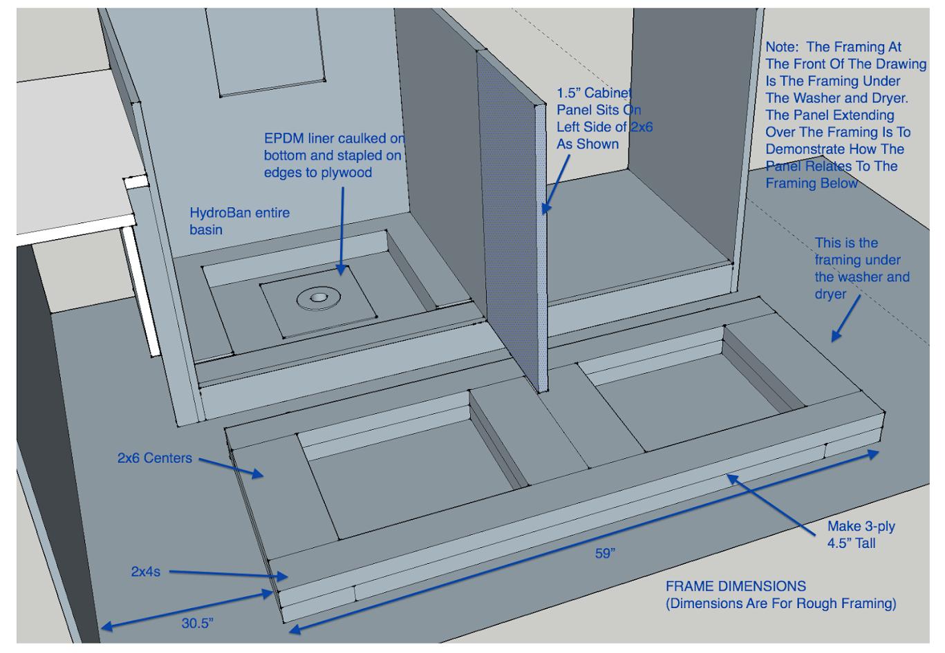 Custom Build Floor Drain Base Best Flooring Florida Home