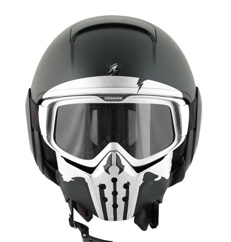 Punisher Helmet Shark Raw My Precious Motorcycle Helmets Cool