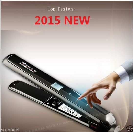 100 240v Original Hair Straightener Flat Iron Ceramic Titanium Plate Hair Curler Curling Straight Ceramic Flat Iron Hair Straighteners Flat Irons Flat Iron