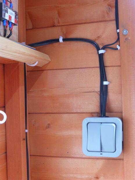 Shed 12v Solar Lighting System Solar Lighting System Solar Heating Solar Projects