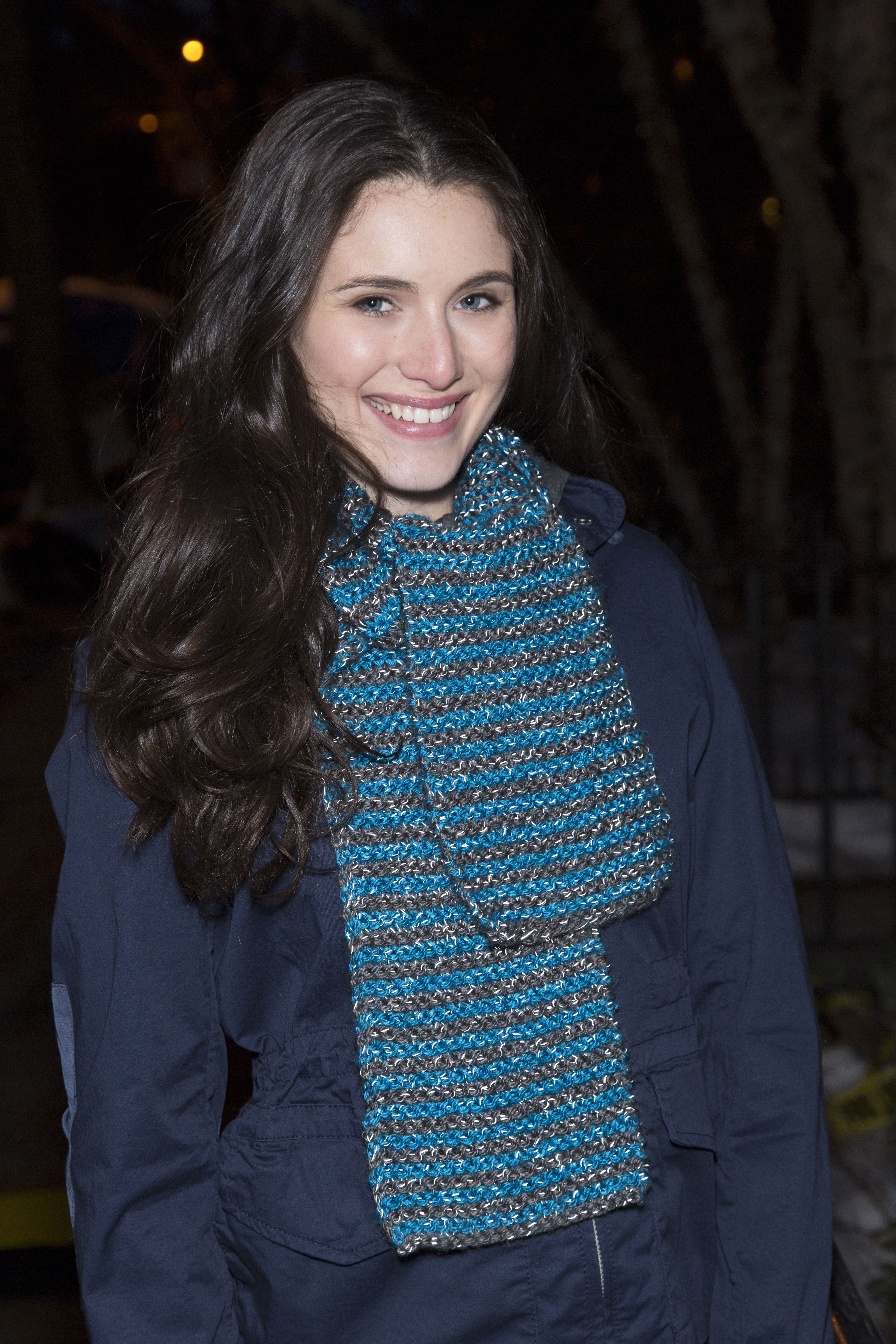 Knit In Stripes Scarf Free Knitting Pattern In Red Heart Yarns New