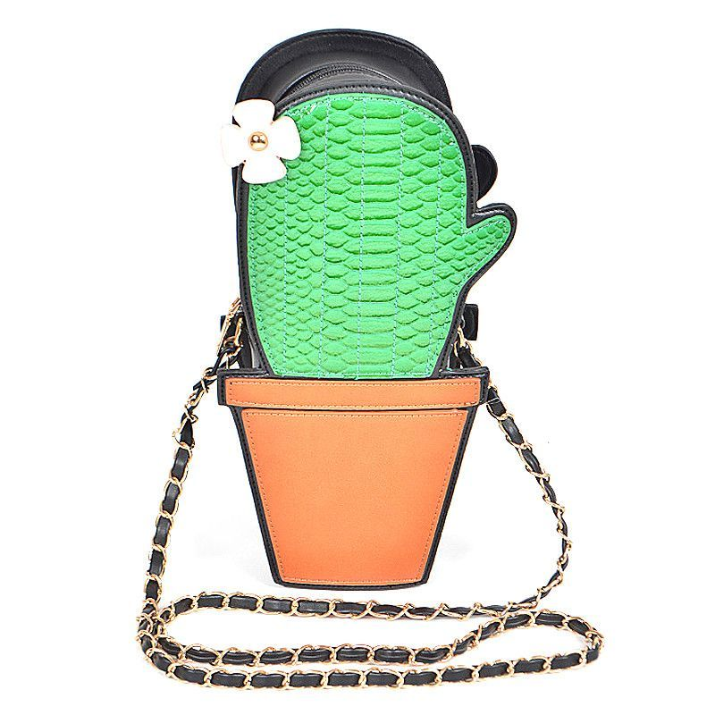 Lovely Cactus Clutch