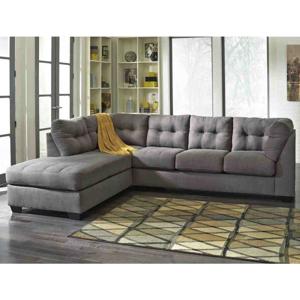 sofa chocolate ashley chaise with b furniture number sectional products item vista bed right piece casual