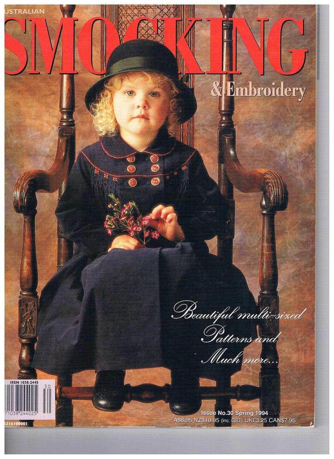 Australian Smocking and Embroidery Issue 30 by SparrowFinds