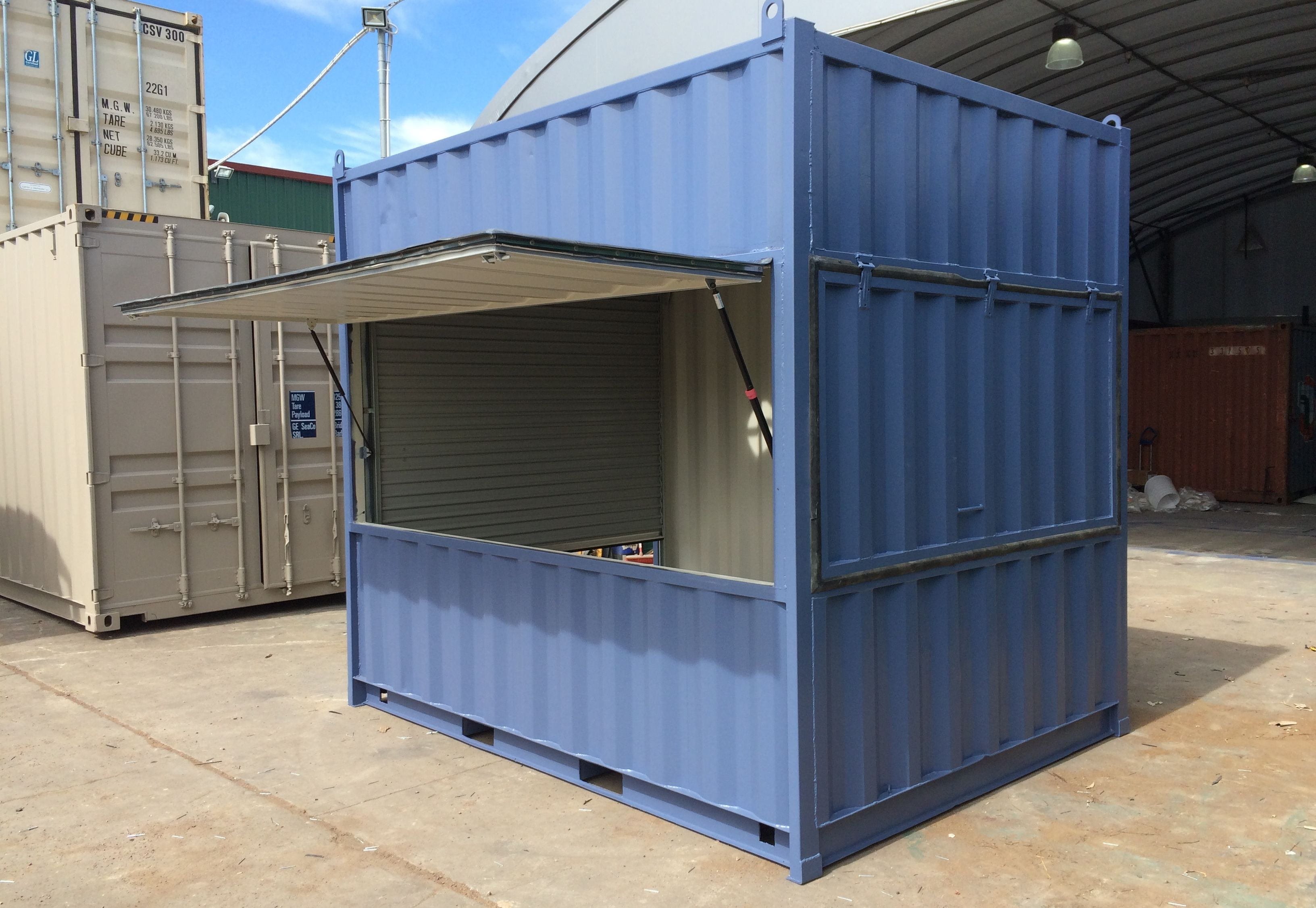 Container Modifications Sunshine All Vic Containers Container Cafe Container Coffee Shop Cafe Shop Design
