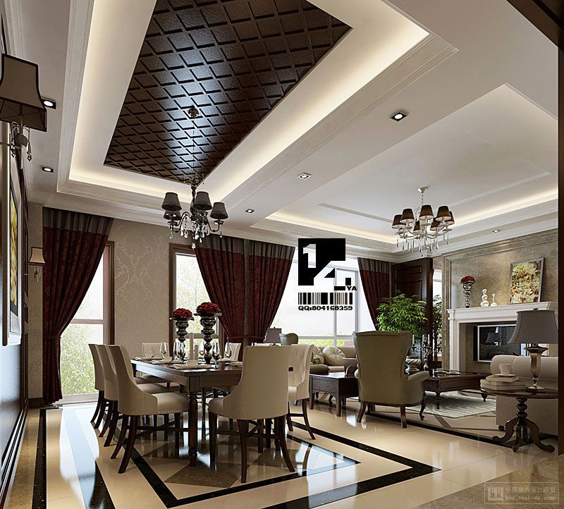 23 Dining Room Ceiling Designs Decorating Ideas: Image Detail For -... Decorating Ideas Modern Oriental