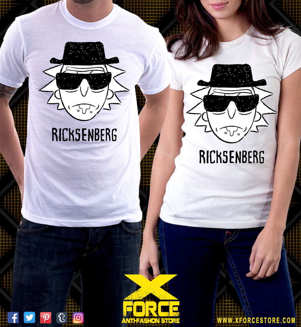 Camisetas Rick And Morty Breaking Bad Series Desenhos Rick And Morty Breaking Bad Camisetas