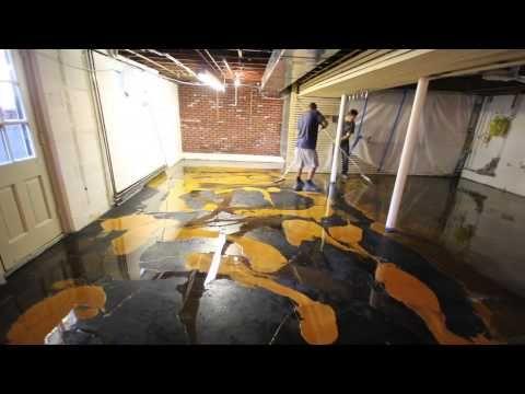 epoxy flooring house heavy duty epoxy how to do metallic epoxy floor in house start to finish youtube