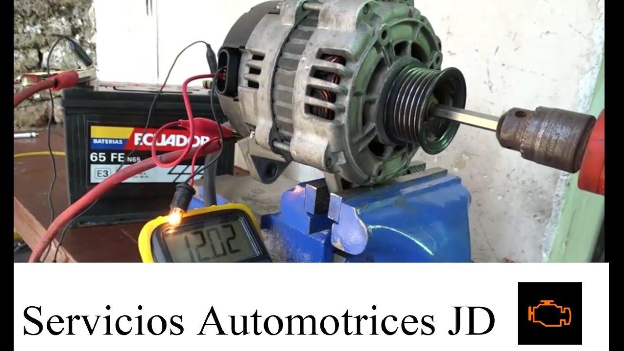 Alternador Parte 4 Comprobacion Fuera Del Motor Vacuum Cleaner Dyson Vacuum Home Appliances