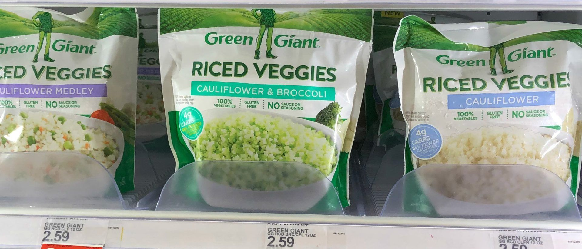 Have YOU Tried Green Giant Riced Veggies? Hip2Keto (With