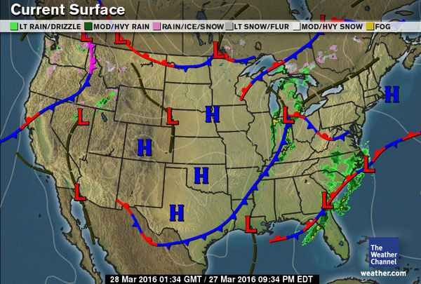 Current Weather Map Usa Current Weather Map   weather.| Weather map, Map, The weather