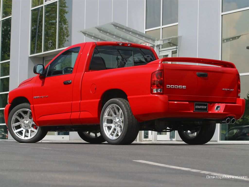 Dodge ram srt 10 introduced at the january 2002 north american international auto show