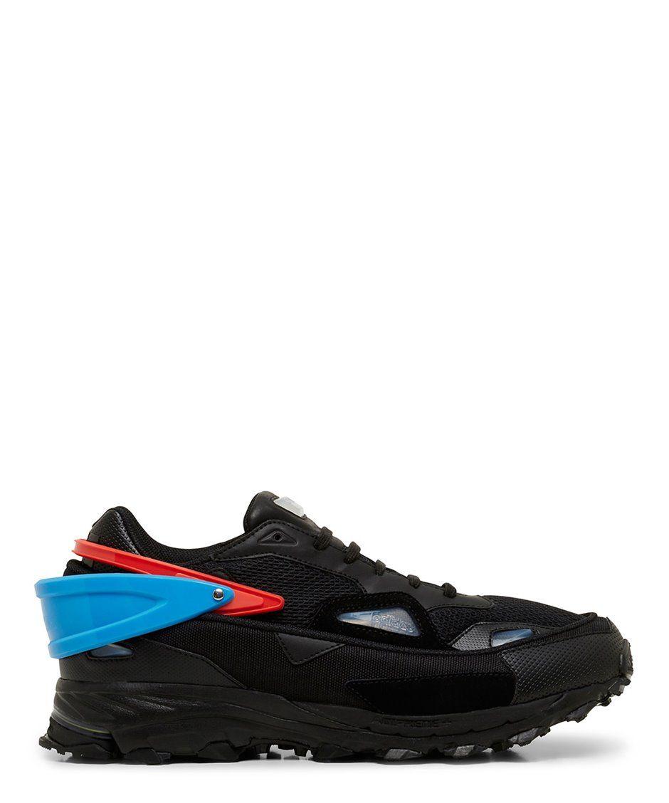 f79cf13debb51 Black Response Trail 2 Low Top Sneaker - RAF SIMONS X ADIDAS
