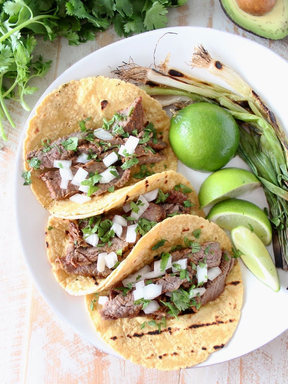 The BEST Carne Asada Tacos Recipe (with video!) - WhitneyBond.com