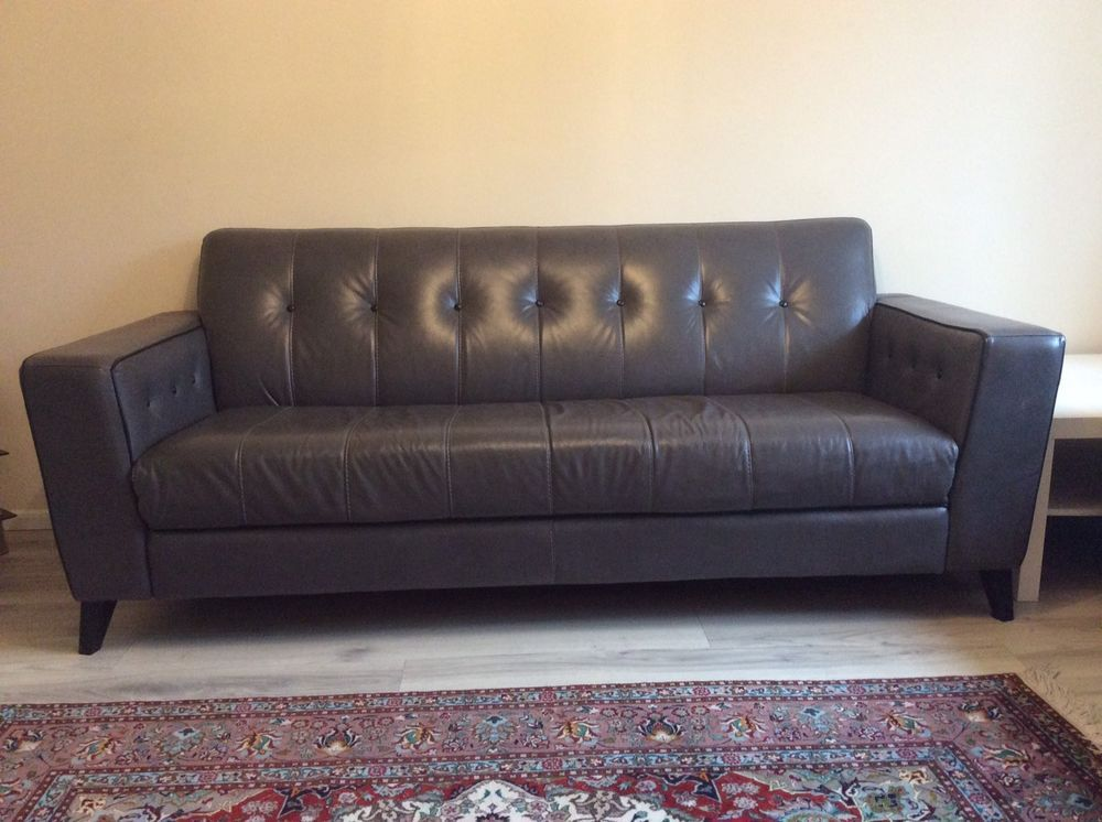 3 Seater Sofa 100 Leather
