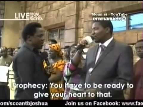 SCOAN 16 Mar 2014: Prayer Line: Prophecy, Deliverance With