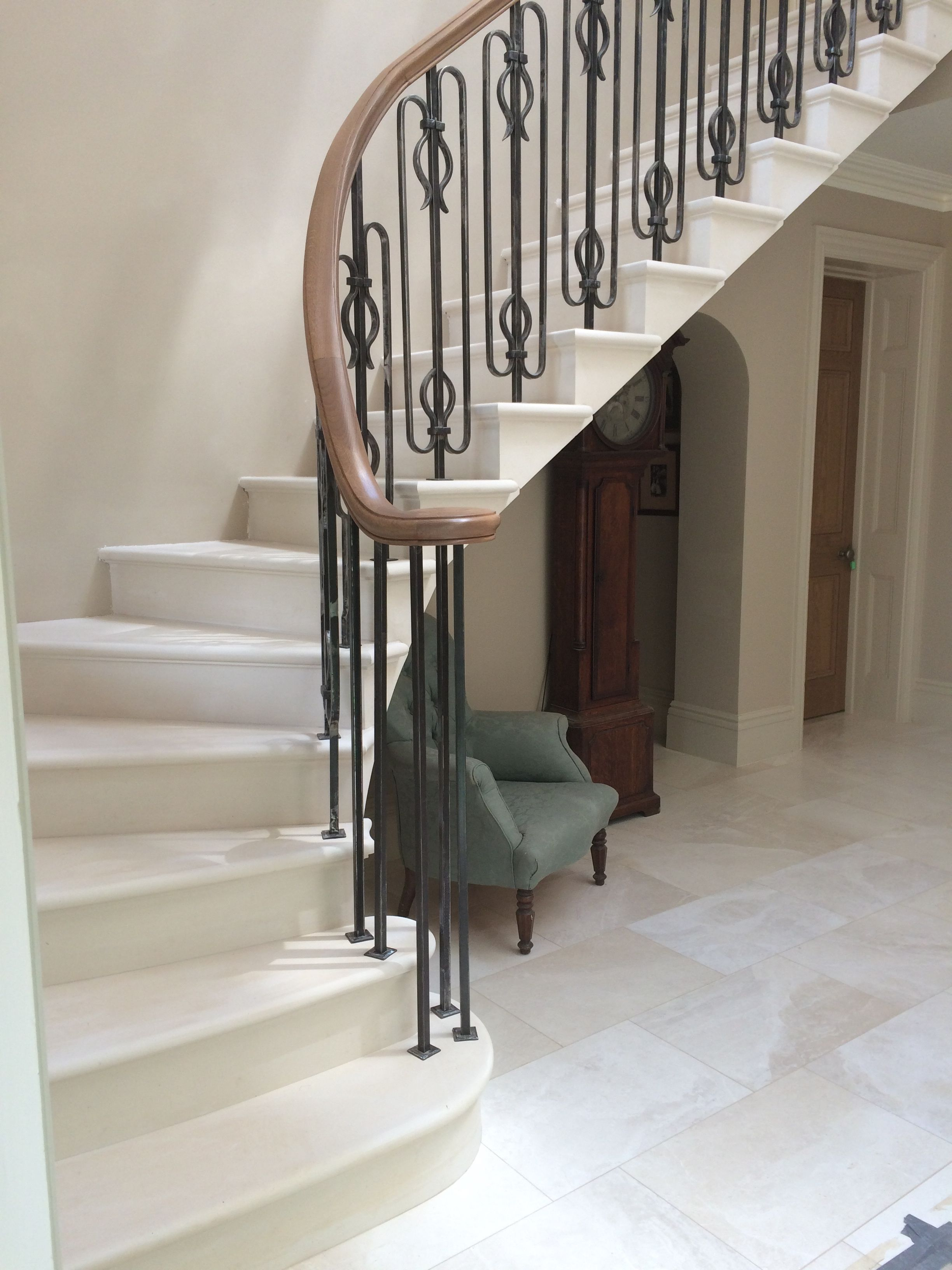 Best Cantilever Stone Staircase In A New House By The 400 x 300