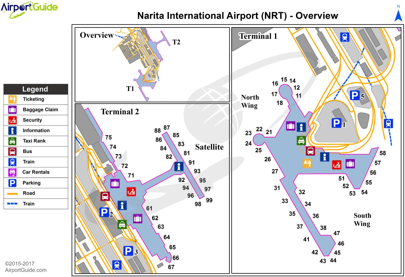 Tokyo Narita International Nrt Airport Terminal Map Overview Airport Guide Airport Design Narita