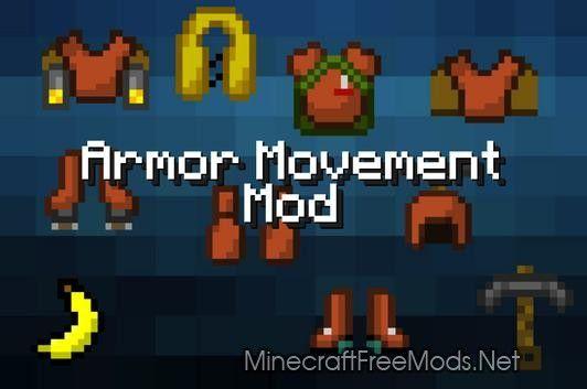 Minecraft mods Armor Movement 1.6.4/1.5.2 – Minecraft Download For ...