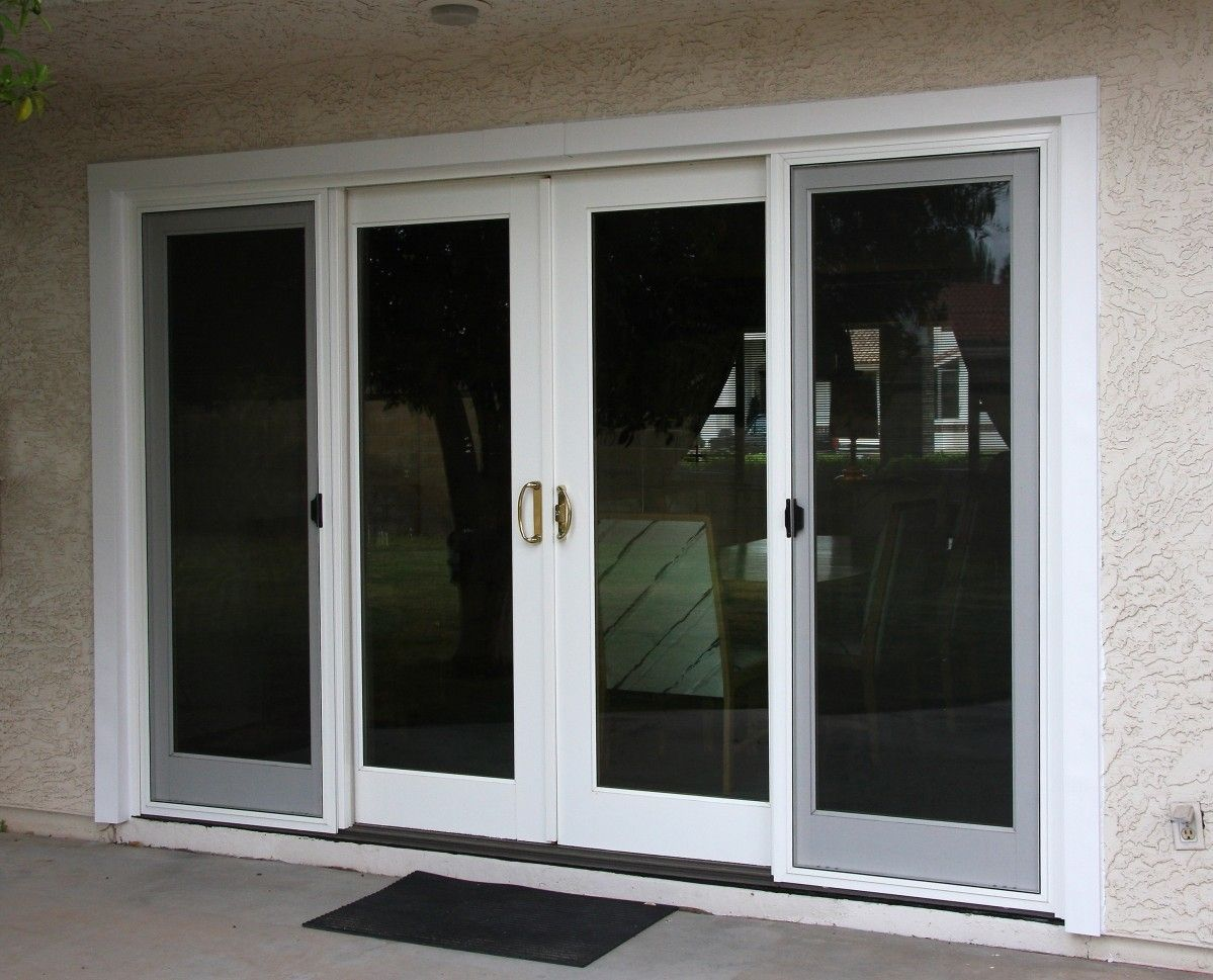 Centre Opening Sliding Patio Doors