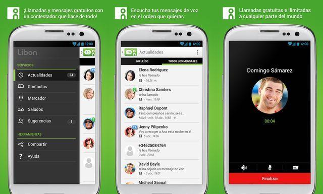 Libon es una plataforma de mensajería móvil, para dispositivos Android e iOS, para chatear, enviar mensajes de voz y realizar llamadas por medio de VoIP.